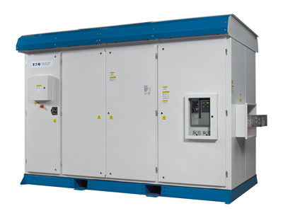 Eaton's 1,500-Vdc inverters will employ a new proprietary DC design concept that replaces manual DC disconnects with DC contactors to improve both control and enhance operator safety.