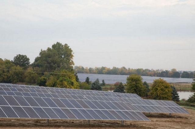 DTE Energy solar farm