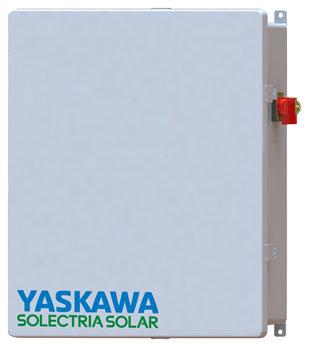 Yaskawa Solectria Solar combiner rapid shutdown