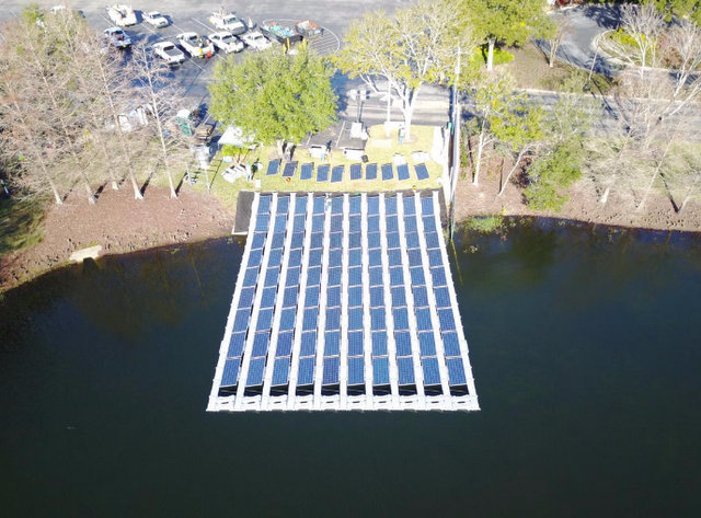 floating solar d3 energy