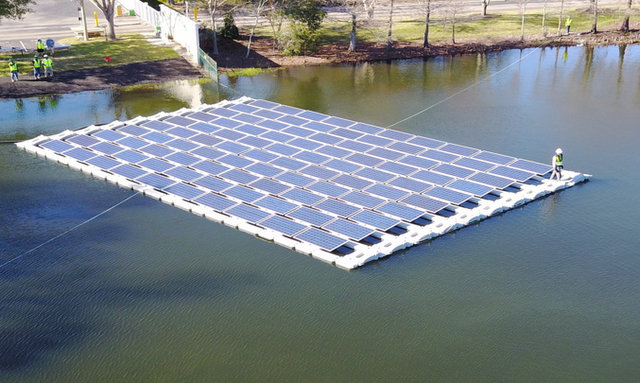 hydrelio floating solar