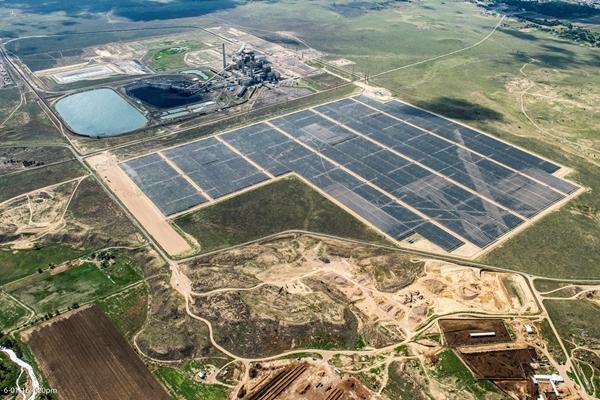Comanche PV plant - Community Energy Solar - SOLV