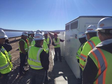 Copper Mountain SMA inverters