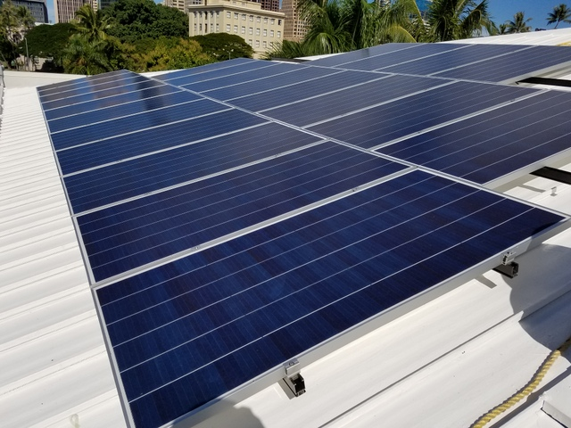 solar array S-5 clamps