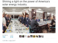 SEIA meets with Rick Perry to talk solar innovations, storage and future of the grid