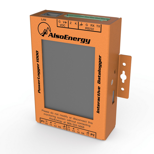 AlsoEnergy PV monitoring