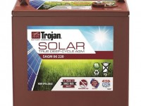 Details on new solar-specific AGM battery line from Trojan Battery