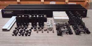 Solar Speedrack's HRS160 Hybrid Racking System