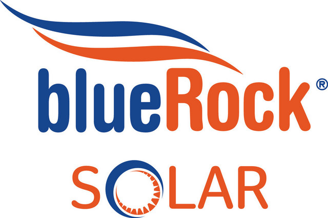 BlueRock Solar Logo