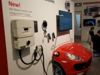 SolarEdge unveils inverter-integrated electric vehicle charger at Intersolar