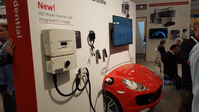 solaredge EV inverter