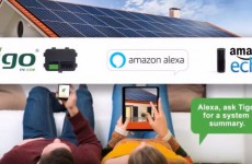 Tigo Skill connects your PV system to Amazon's Alexa (enter to win one)
