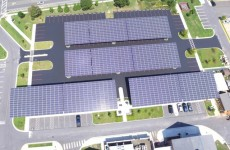 Check out this 541-kW solar canopy project at Salisbury University
