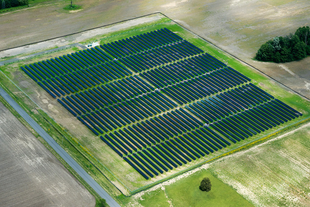 Ohio northern solar array