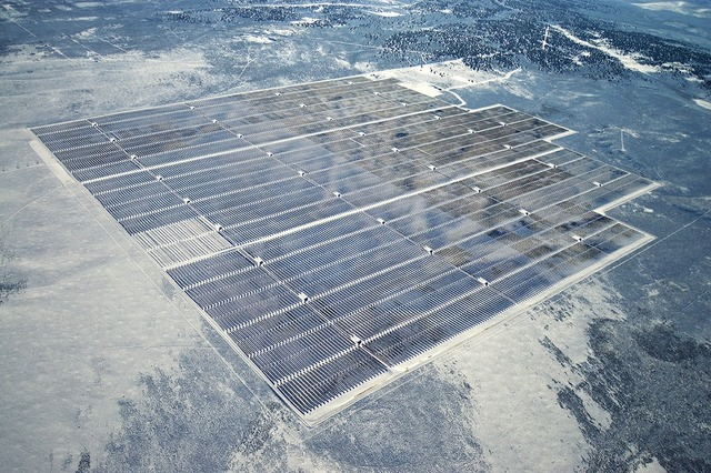 Three Peaks solar project