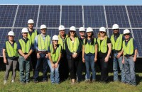 Geronimo Energy celebrating another community solar install in Minnesota.