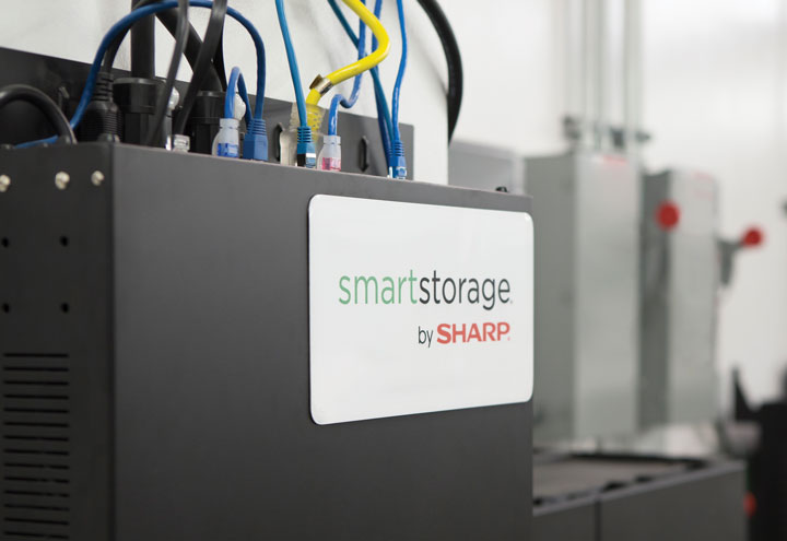 sharp smart storage