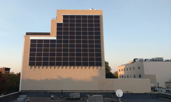 "Urban Health Plan ""Solar Wall"""