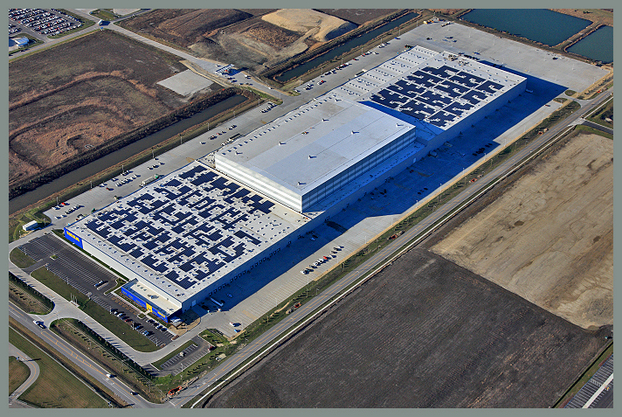Largest Solar Rooftop Project In Illinois Installed Atop