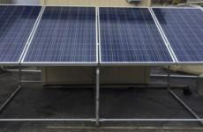 FEMA-1 Structure equipped with four 380W solar modules (PRNewsfoto/SunnyCal Solar Inc.)