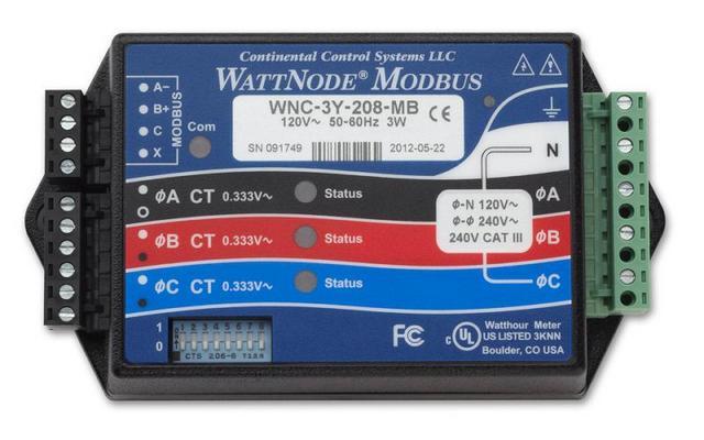 wattnode ac energy meter