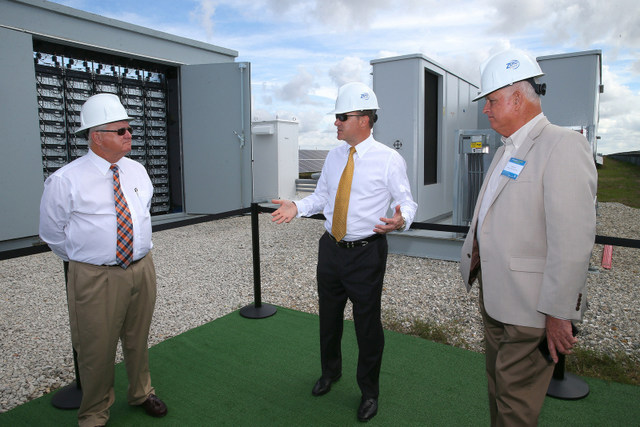 Florida Power Light Wildflower Commissioning Battery Storage