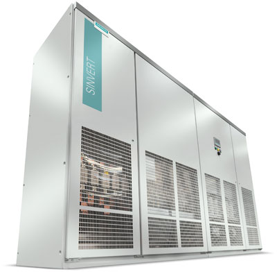 Siemens Sinvert Inverters Used in New Facility