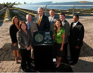 Orange County, Fla., 5.9-MW PV Array Dedicated