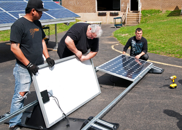 Infinite Solar Training Classes Use Sollega Products