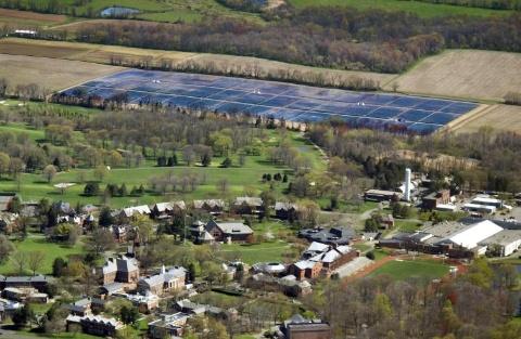 N.J. Boarding School Gets 6.1-MW Ground Mount System