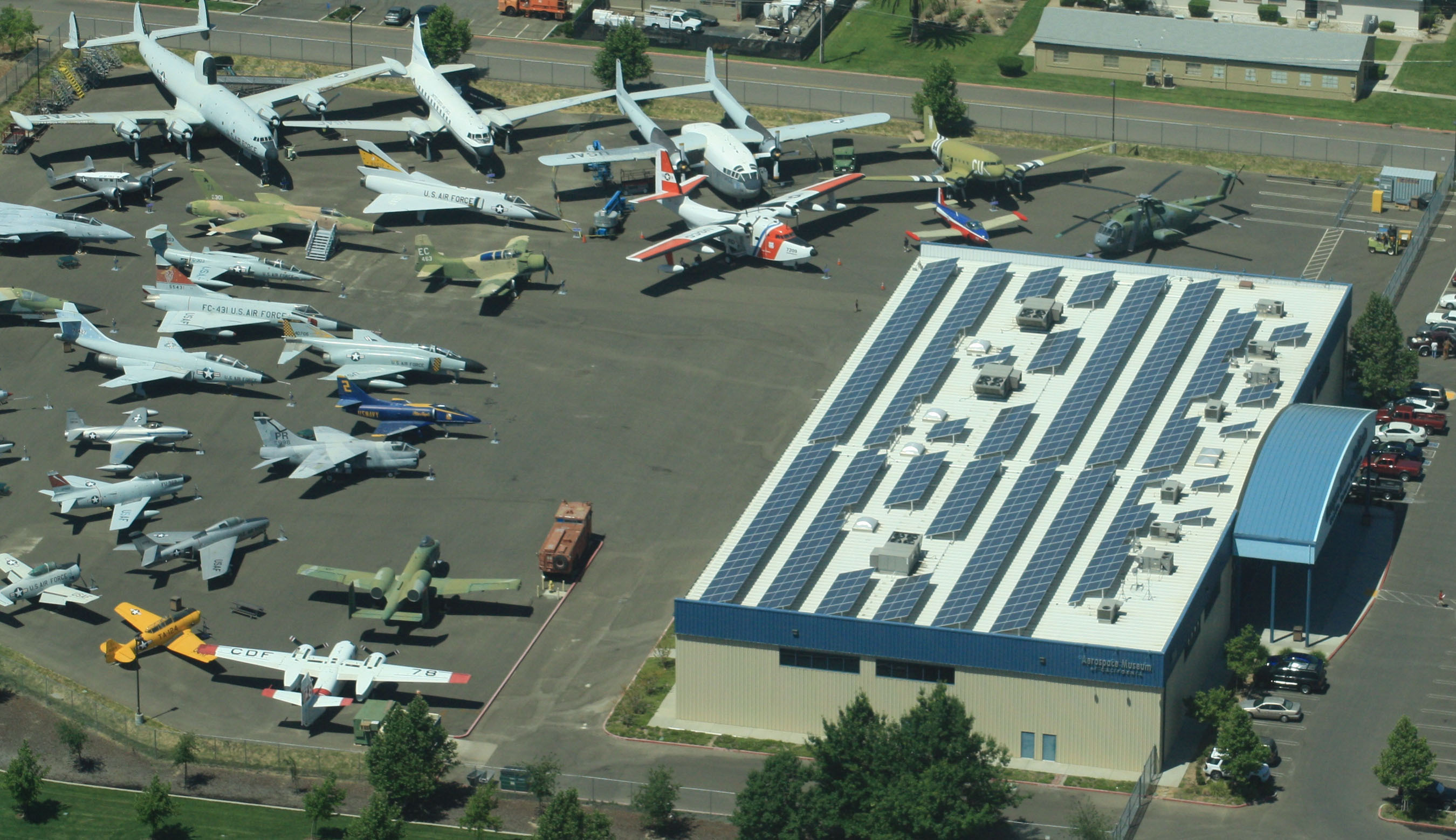 177.7-kW Solar Power System Installed at Aerospace Museum
