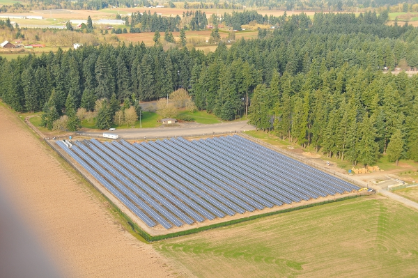 1.75-MW Solar Highway Project Finished in Oregon