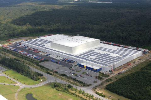 IKEA Surpasses 75% U.S. Solar Presence with 1.45-MW System in Georgia