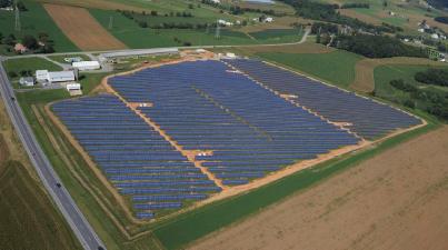 Keystone Solar Project Completed by Community Energy Solar, groSolar