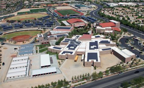 Nevada's Largest Private School Installs 1.11-MW Solar Array