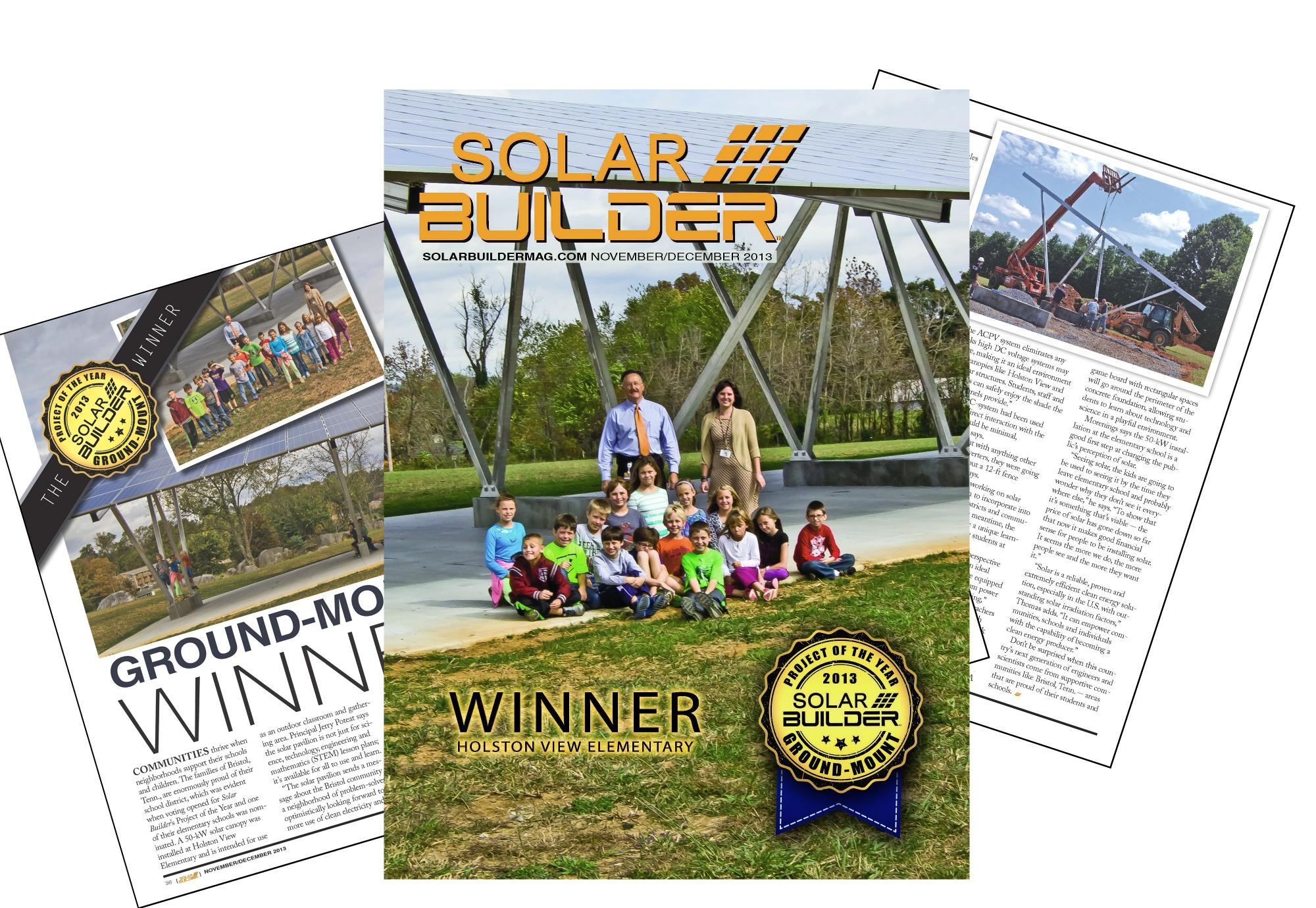 2013 Ground Mount Project Of The Year Winner Holston View Empower Solar Inverter Wiring Diagram Elementary Builder