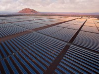 Which company is the leader in solar tracker deployment?