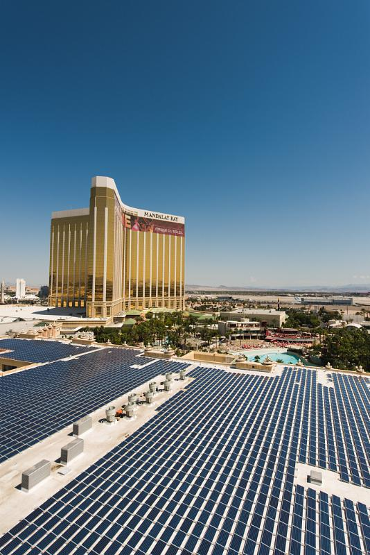 Mandalay Bay 2 Bedroom Suite: Mandalay Bay Resort And Casino Now Home To 6.4-MW Solar