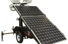 Magnum's MLT4000S Solar Hybrid Portable Light Tower