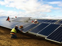 AET Rayport-G ECO Ground Mount System Installed at Solar Plant in Vermont