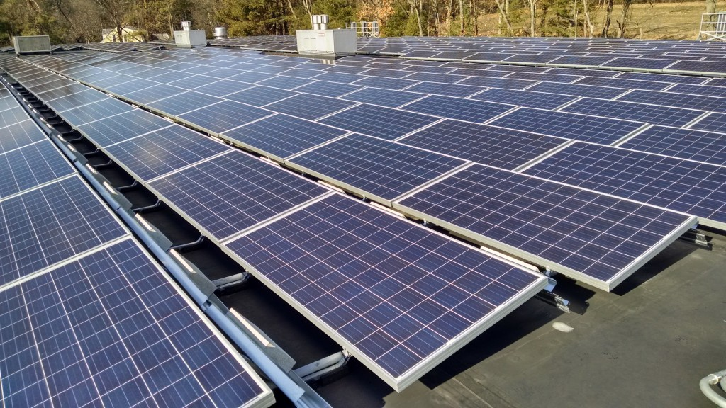Circle Furniture Rooftop Solar Project