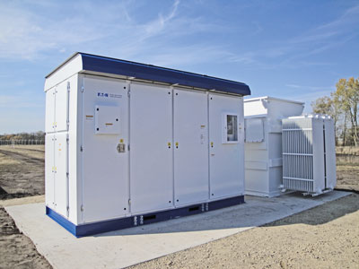 Grid-tied energy storage inverters and transformers have the ability to adapt to changing grid conditions at speeds nearly 1,000 times faster than a peaking plant.