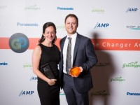 SunEdison Director of Business Development Jonathan Frank won the Emerging Solar Leader award and SunEdison Vice President and Country Manager Michelle Chislett won the Solar Power Woman of Distinction Award
