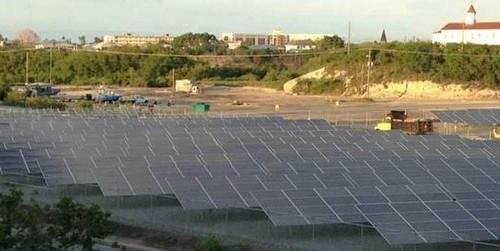 solar flexrack cuban naval install