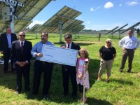 Solar power for a prison leads to Make a Wish donation via Watts for Wishes