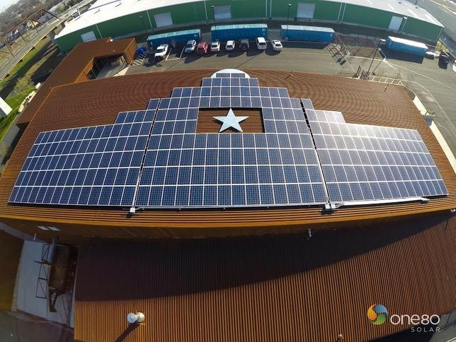 alamo brewery solar panels