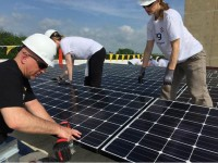 NRG Energy brings solar power to New Jersey non-profit