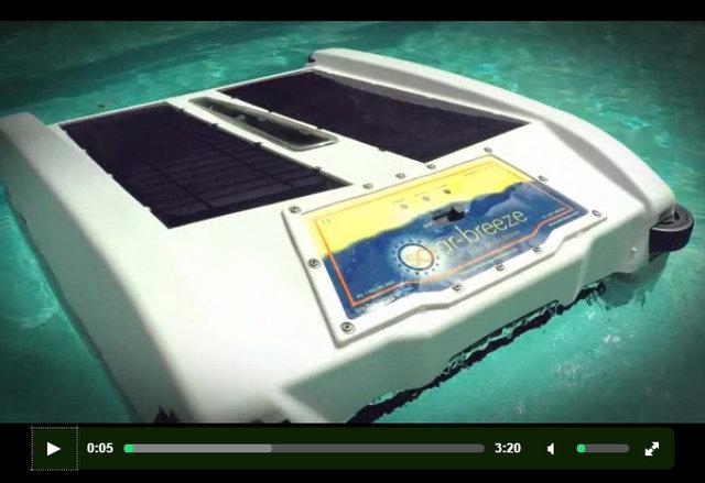 solar pool cleaner