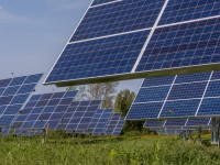 AllEarth Renewables St. Albans, VT sun tracker site.