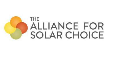 THE ALLIANCE FOR SOLAR CHOICE